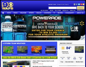 WAFB Homepage Takeover Ad