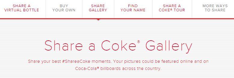 Share a Coke moment!