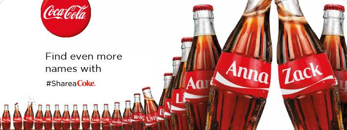 SAC, Share a coke, brands, fun, coca-cola