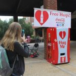 Athens, hug vendors, Free hugs