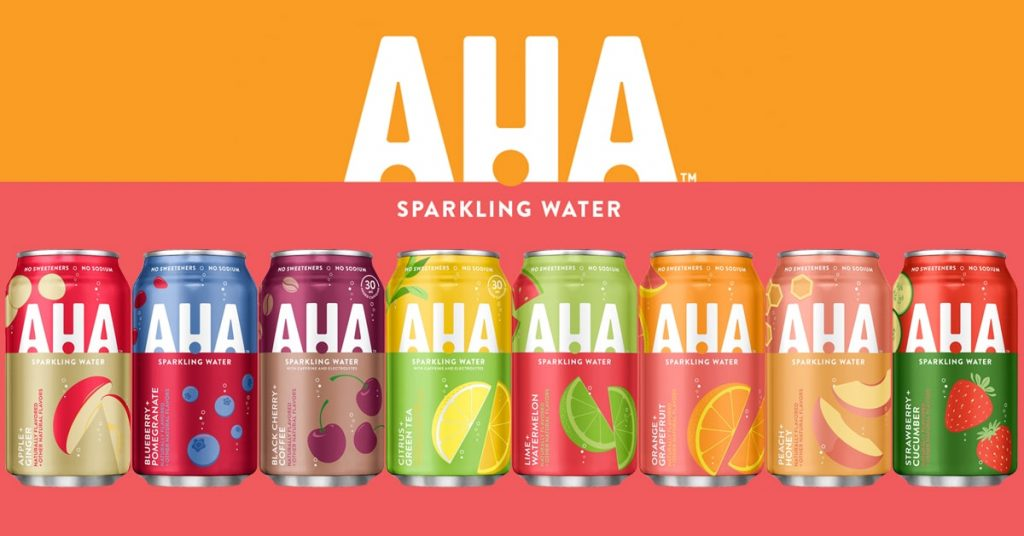 Cans of each of the new flavors