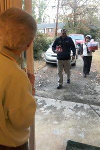 Coke associates arriving at Joyce's house